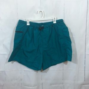 Vintage Men's Teal The North Face Shorts XXL
